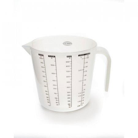 Taza Medidora Press 1LT Transparente