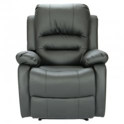 Sillón Reclinable Kansas 8066 Negro
