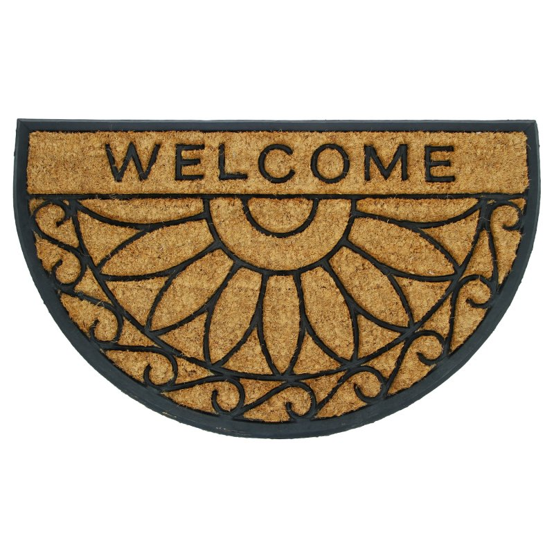 Tapete de Entrada Welcome Expressions Living Style Beige