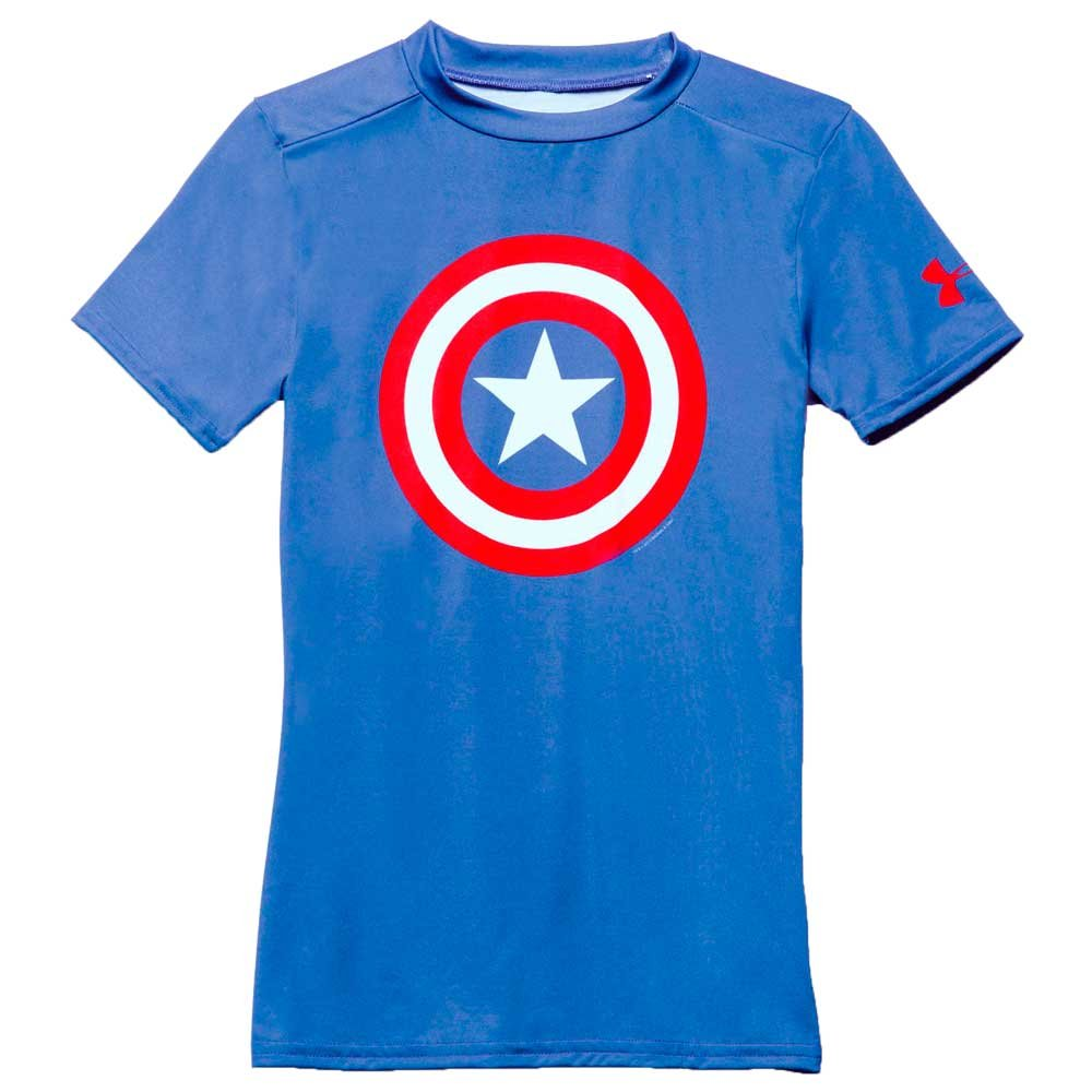 Camiseta Under Armour Alter Ego Capitan America Niño Talla L